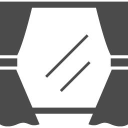 窓のアイコン1 アイコン素材ダウンロードサイト Icooon Mono 商用利用可能なアイコン素材が無料 フリー ダウンロードできるサイト