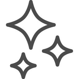 キラキラ 3 アイコン素材ダウンロードサイト Icooon Mono 商用利用可能なアイコン素材が無料 フリー ダウンロードできるサイト