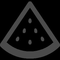 カットしたスイカのアイコン アイコン素材ダウンロードサイト Icooon Mono 商用利用可能なアイコン素材が無料 フリー ダウンロードできるサイト