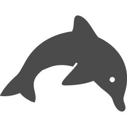 イルカのフリーアイコン アイコン素材ダウンロードサイト Icooon Mono 商用利用可能なアイコン素材が無料 フリー ダウンロードできるサイト