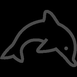 イルカのイラスト素材2 アイコン素材ダウンロードサイト Icooon Mono 商用利用可能なアイコン素材が無料 フリー ダウンロードできるサイト