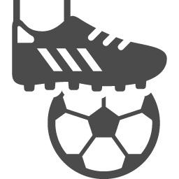 サッカーのフリーイラスト アイコン素材ダウンロードサイト Icooon Mono 商用利用可能なアイコン素材 が無料 フリー ダウンロードできるサイト