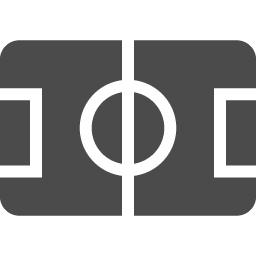サッカー競技場2 アイコン素材ダウンロードサイト Icooon Mono 商用利用可能なアイコン素材が無料 フリー ダウンロードできるサイト