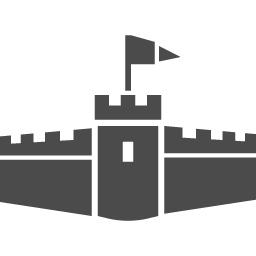 お城のフリーアイコン10 アイコン素材ダウンロードサイト Icooon Mono 商用利用可能なアイコン素材が無料 フリー ダウンロードできるサイト