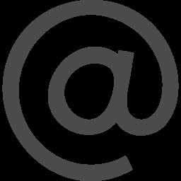 アットマークの記号アイコン アイコン素材ダウンロードサイト Icooon Mono 商用利用可能なアイコン 素材が無料 フリー ダウンロードできるサイト