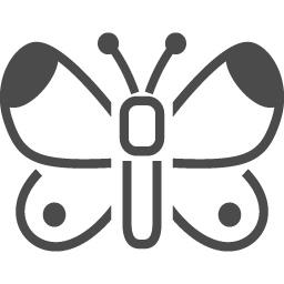 モンシロチョウのアイコン素材 アイコン素材ダウンロードサイト Icooon Mono 商用利用可能なアイコン素材が無料 フリー ダウンロードできるサイト