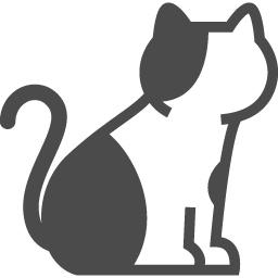 三毛猫のイラスト素材 アイコン素材ダウンロードサイト Icooon Mono 商用利用可能なアイコン素材が無料 フリー ダウンロードできるサイト