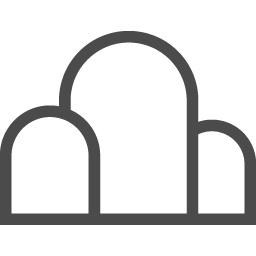 可愛い山アイコン2 アイコン素材ダウンロードサイト Icooon Mono 商用利用可能なアイコン素材が無料 フリー ダウンロードできるサイト