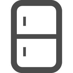 冷蔵庫アイコン2 アイコン素材ダウンロードサイト Icooon Mono 商用利用可能なアイコン素材が無料 フリー ダウンロードできるサイト