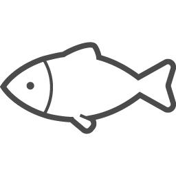 魚アイコン3 アイコン素材ダウンロードサイト Icooon Mono 商用利用可能なアイコン素材が無料 フリー ダウンロードできるサイト