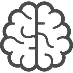 脳のイラスト1 アイコン素材ダウンロードサイト Icooon Mono 商用利用可能なアイコン素材が無料 フリー ダウンロードできるサイト