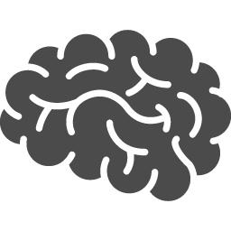 脳のピクトグラム5 アイコン素材ダウンロードサイト Icooon Mono 商用利用可能なアイコン素材が無料 フリー ダウンロードできるサイト