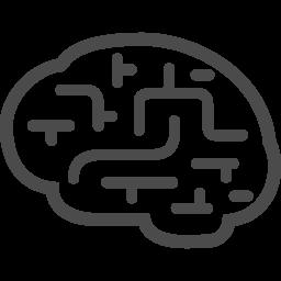 脳のアイコン9 アイコン素材ダウンロードサイト Icooon Mono 商用利用可能なアイコン素材が無料 フリー ダウンロードできるサイト