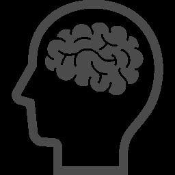 脳のイラスト12 アイコン素材ダウンロードサイト Icooon Mono 商用利用可能なアイコン素材が無料 フリー ダウンロードできるサイト