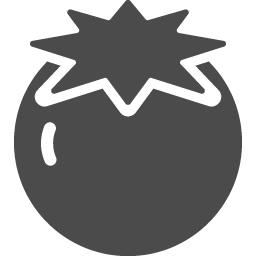 トマトのアイコン2 アイコン素材ダウンロードサイト Icooon Mono 商用利用可能なアイコン素材が無料 フリー ダウンロードできるサイト