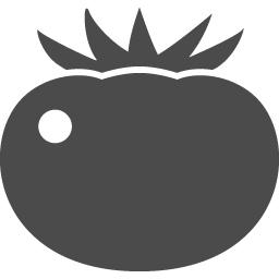 トマトのアイコン4 アイコン素材ダウンロードサイト Icooon Mono 商用利用可能なアイコン素材が無料 フリー ダウンロードできるサイト