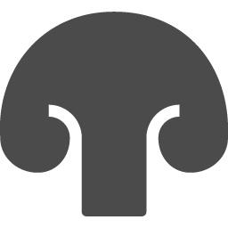 きのこのピクトグラム5 アイコン素材ダウンロードサイト Icooon Mono 商用利用可能なアイコン素材が無料 フリー ダウンロードできるサイト