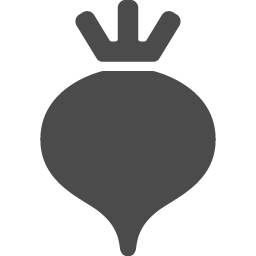 ラディッシュのアイコン1 アイコン素材ダウンロードサイト Icooon Mono 商用利用可能なアイコン素材が無料 フリー ダウンロードできるサイト