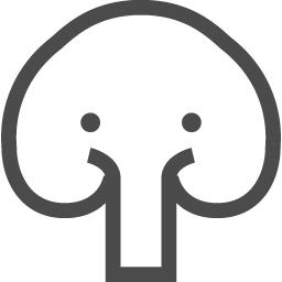 象の無料アイコン アイコン素材ダウンロードサイト Icooon Mono 商用利用可能なアイコン素材が無料 フリー ダウンロードできるサイト