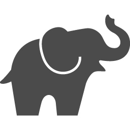 象の無料アイコン5 アイコン素材ダウンロードサイト Icooon Mono 商用利用可能なアイコン素材が無料 フリー ダウンロードできるサイト