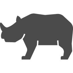 サイのアイコン2 アイコン素材ダウンロードサイト Icooon Mono 商用利用可能なアイコン素材が無料 フリー ダウンロードできるサイト