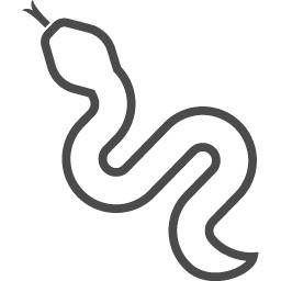 ヘビのアイコン5 アイコン素材ダウンロードサイト Icooon Mono 商用利用可能なアイコン素材が無料 フリー ダウンロードできるサイト