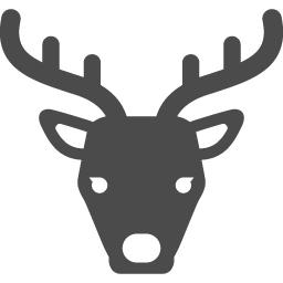 鹿のフリーアイコン2 アイコン素材ダウンロードサイト Icooon Mono 商用利用可能なアイコン素材が無料 フリー ダウンロードできるサイト