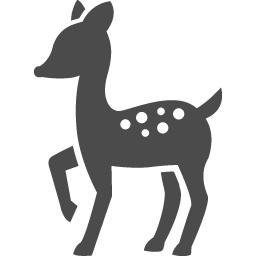 バンビのアイコン1 アイコン素材ダウンロードサイト Icooon Mono 商用利用可能なアイコン素材が無料 フリー ダウンロードできるサイト