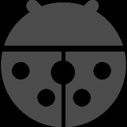 てんとう虫アイコン2 アイコン素材ダウンロードサイト Icooon Mono 商用利用可能なアイコン素材が無料 フリー ダウンロードできるサイト