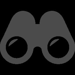 双眼鏡ピクトグラム2 アイコン素材ダウンロードサイト Icooon Mono 商用利用可能なアイコン素材が無料 フリー ダウンロードできるサイト