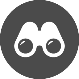 双眼鏡の無料アイコン3 アイコン素材ダウンロードサイト Icooon Mono 商用利用可能なアイコン素材が無料 フリー ダウンロードできるサイト
