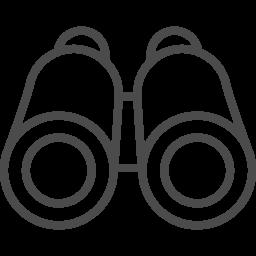 双眼鏡のフリーアイコン5 アイコン素材ダウンロードサイト Icooon Mono 商用利用可能なアイコン素材が無料 フリー ダウンロードできるサイト