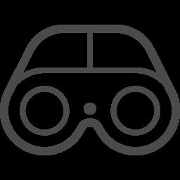 双眼鏡のイラスト素材8 アイコン素材ダウンロードサイト Icooon Mono 商用利用可能なアイコン素材が無料 フリー ダウンロードできるサイト