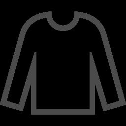 ロングtシャツアイコン2 アイコン素材ダウンロードサイト Icooon Mono 商用利用可能なアイコン素材が無料 フリー ダウンロードできるサイト