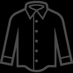 Yシャツのイラスト素材5 アイコン素材ダウンロードサイト Icooon Mono 商用利用可能なアイコン素材 が無料 フリー ダウンロードできるサイト