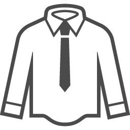 Yシャツのフリーアイコン7 アイコン素材ダウンロードサイト Icooon Mono 商用利用可能なアイコン素材が無料 フリー ダウンロードできるサイト
