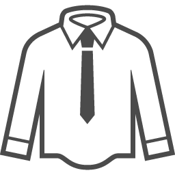 Yシャツのフリーアイコン7 アイコン素材ダウンロードサイト Icooon Mono 商用利用可能なアイコン 素材が無料 フリー ダウンロードできるサイト