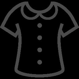 服のイラスト素材 アイコン素材ダウンロードサイト Icooon Mono 商用利用可能なアイコン素材が無料 フリー ダウンロードできるサイト