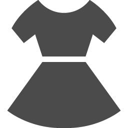 ワンピースのフリーアイコン1 アイコン素材ダウンロードサイト Icooon Mono 商用利用可能なアイコン素材が無料 フリー ダウンロードできるサイト
