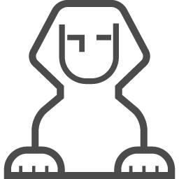 スフィンクスアイコン3 アイコン素材ダウンロードサイト Icooon Mono 商用利用可能なアイコン素材が無料 フリー ダウンロードできるサイト