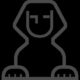 スフィンクスアイコン3 アイコン素材ダウンロードサイト Icooon Mono 商用利用可能なアイコン 素材が無料 フリー ダウンロードできるサイト