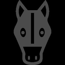 競走馬アイコン1 アイコン素材ダウンロードサイト Icooon Mono 商用利用可能なアイコン素材が無料 フリー ダウンロードできるサイト