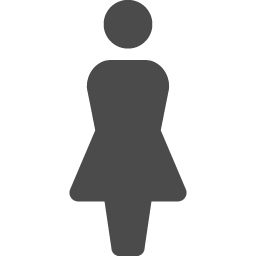 女性のマーク アイコン素材ダウンロードサイト Icooon Mono 商用利用可能なアイコン素材が無料 フリー ダウンロードできるサイト