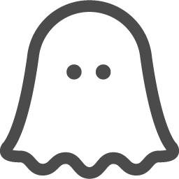 ゴーストアイコン2 アイコン素材ダウンロードサイト Icooon Mono 商用利用可能なアイコン素材が無料 フリー ダウンロードできるサイト