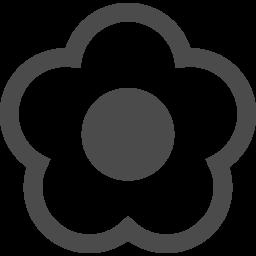 花アイコン4 アイコン素材ダウンロードサイト Icooon Mono 商用利用可能なアイコン素材が無料 フリー ダウンロードできるサイト