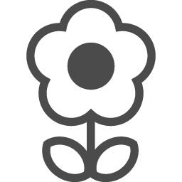 花フリー素材5 アイコン素材ダウンロードサイト Icooon Mono 商用利用可能なアイコン素材が無料 フリー ダウンロードできるサイト