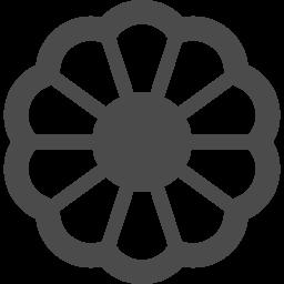 花アイコン6 アイコン素材ダウンロードサイト Icooon Mono 商用利用可能なアイコン素材が無料 フリー ダウンロードできるサイト