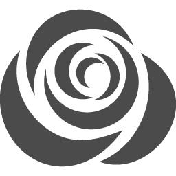 Rose Icon 1 アイコン素材ダウンロードサイト Icooon Mono 商用利用可能なアイコン素材が無料 フリー ダウンロードできるサイト