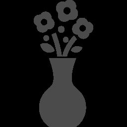 生け花アイコン1 アイコン素材ダウンロードサイト Icooon Mono 商用利用可能なアイコン素材が無料 フリー ダウンロードできるサイト
