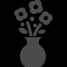 生け花アイコン2 アイコン素材ダウンロードサイト Icooon Mono 商用利用可能なアイコン素材が無料 フリー ダウンロードできるサイト